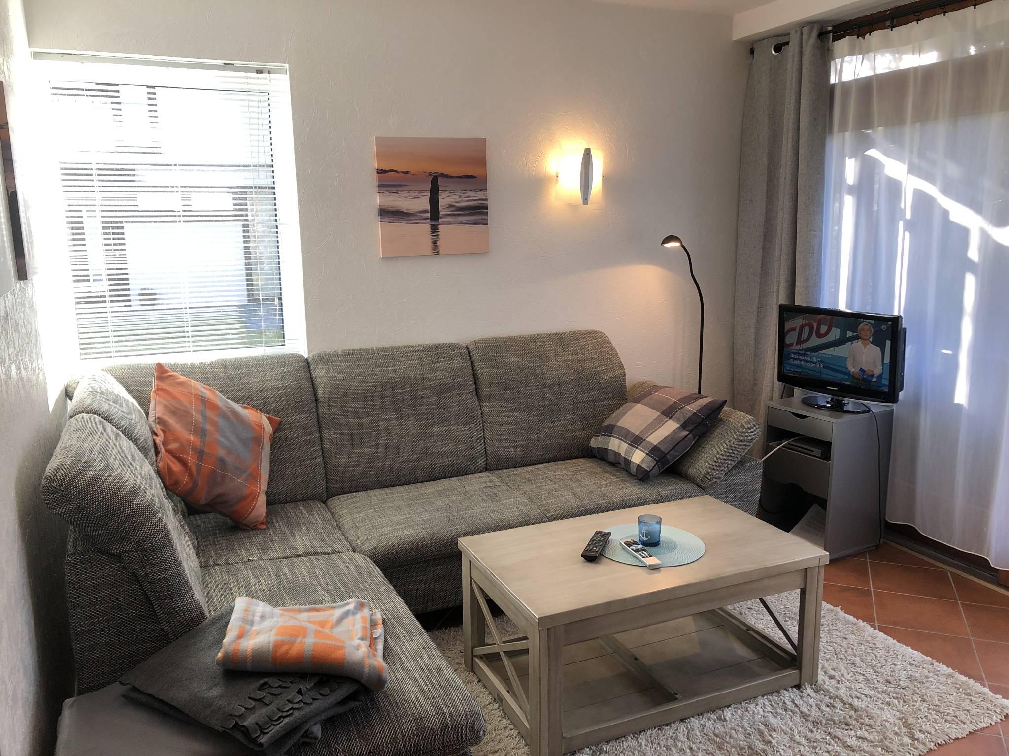 Sofa und TV