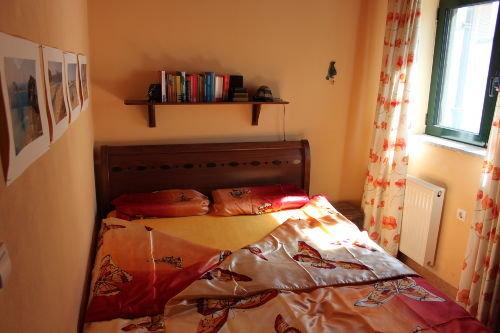 Schlafzimmer mit Einbauschr�nken