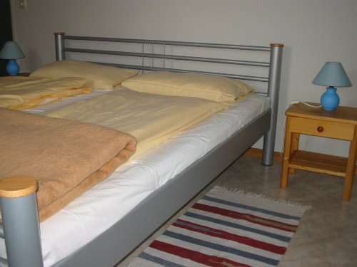 Schlafenzimmer in der G�nsewohnung
