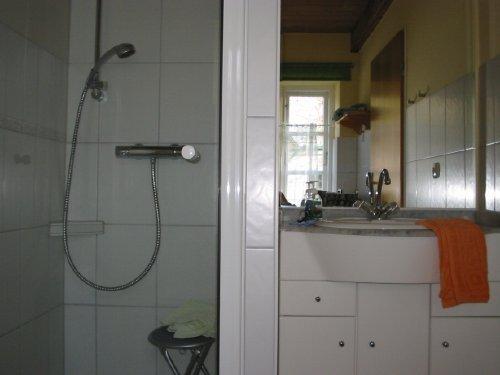 Duschbad in der Entenwohnung