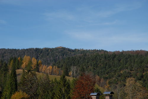 Blick auf den hohen Kranzberg