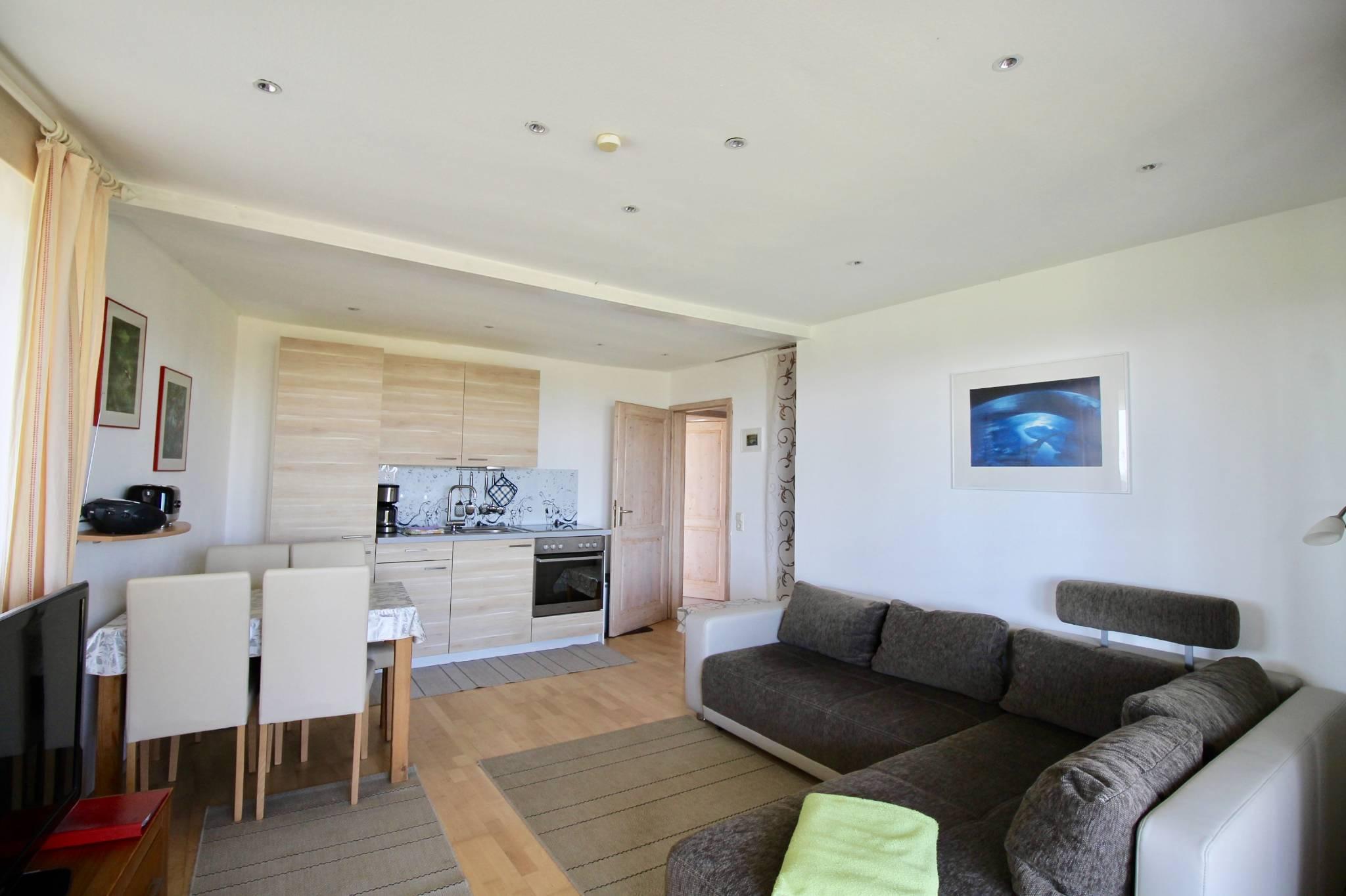 Wohnzimmer, Terrassenzugang