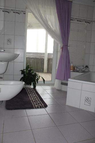 Direkter Zugang vom Bad zur Terrasse