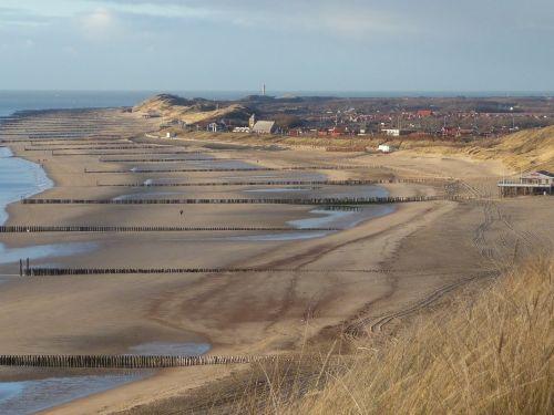 Strand Zoutelande.