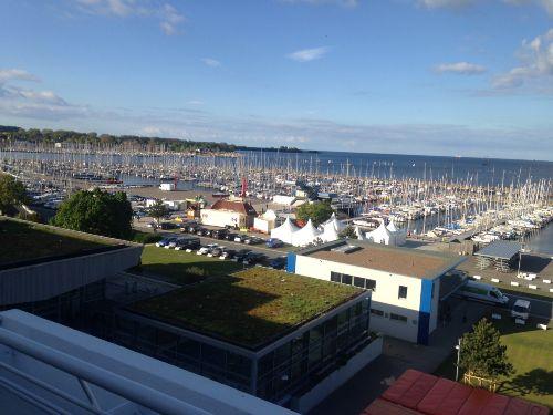 Blick �ber den Yachthafen