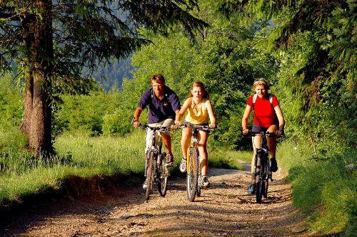 Radtour im Thüringer Wald