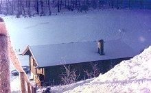 Winter mit seltenem Polarschnee