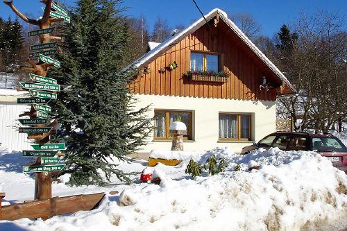 Ferienhaus Hornschuch im Winter