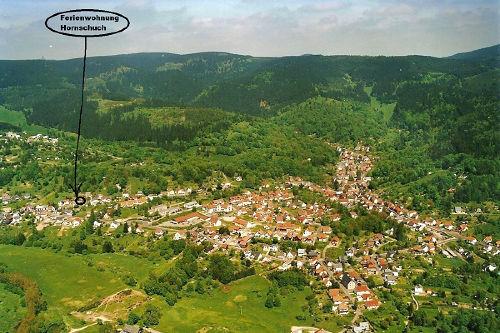 Luftansicht von Goldlauter-Heidersbach
