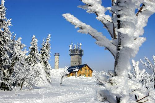 Winter am Schneekopf