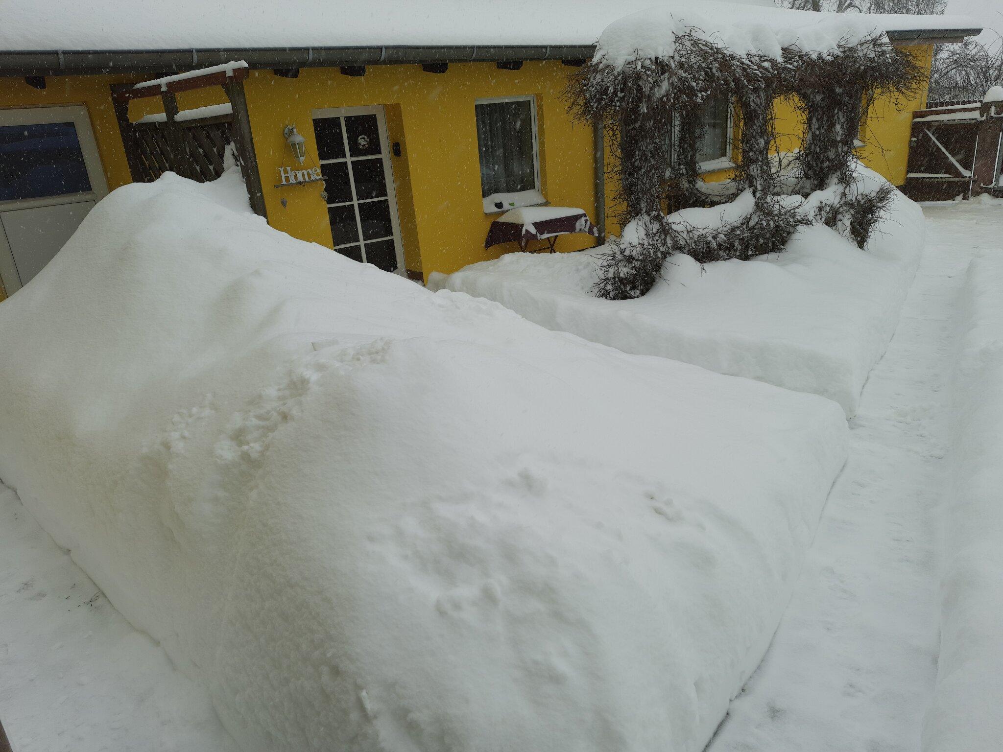 Winter - es hat geschneit