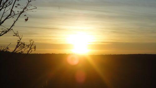 Sonnenaufgang in Dankerode