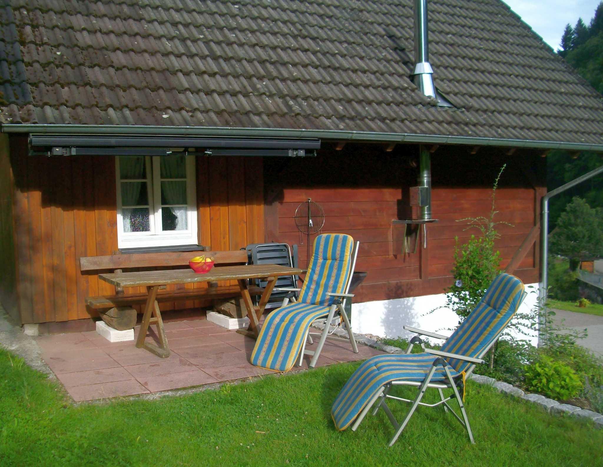Ferienwohnung 1 - Terrasse