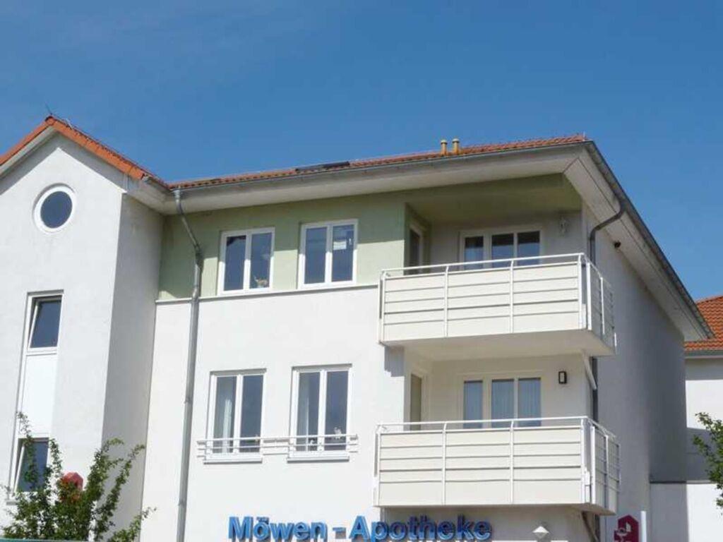 Ferienwohnung mit OSTSEEBLICK, 90 m zum Strand, F