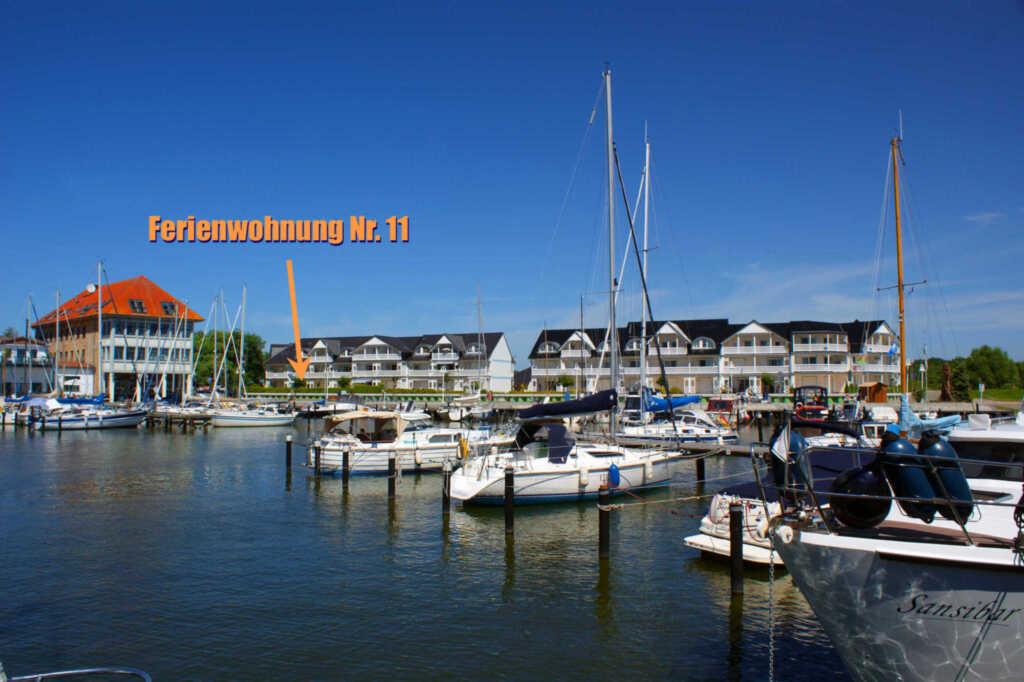 Ferienwohnung Hafenidyll 11 mit Hafenblick, Ferien