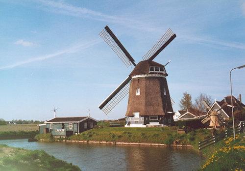 Alte Mühlen und Kanäle im Nachbardorf