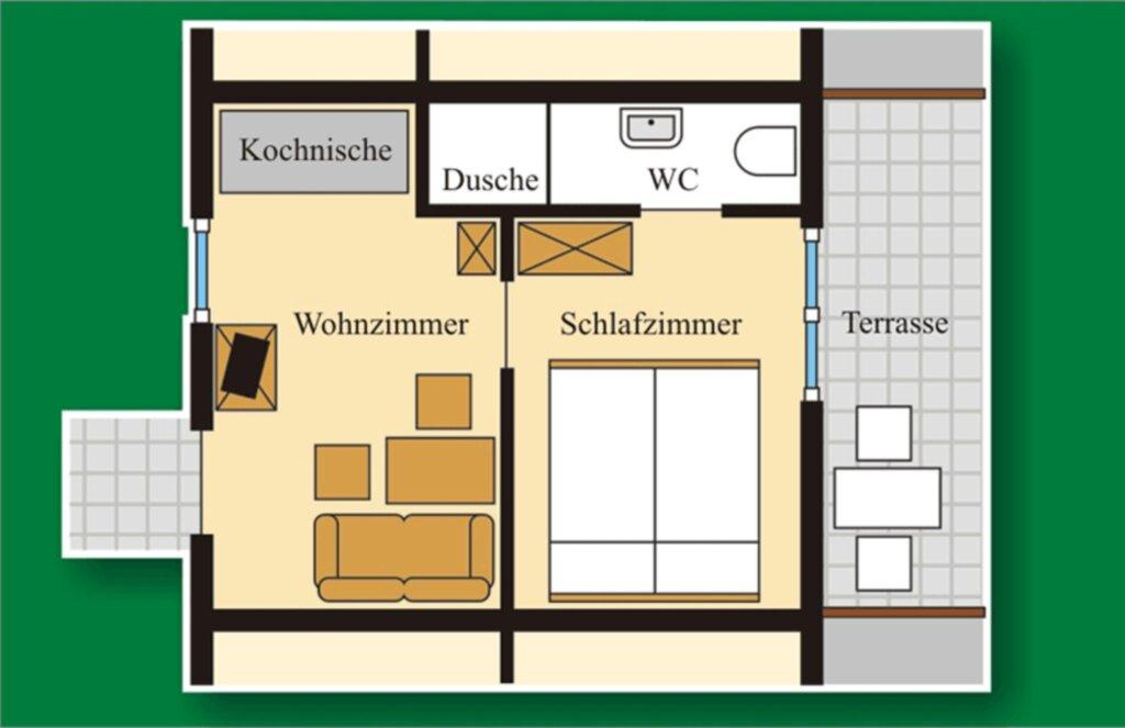 Gasthof 'Letzter Heller', Ferienwohnung 1