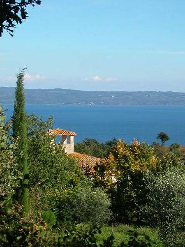 Casa Vasalone, Park und Bolsena See