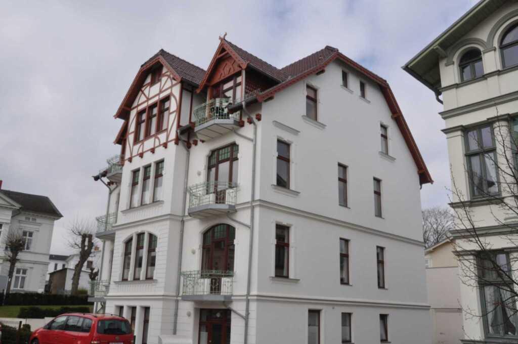 Villa Ahlbeck-Medici - Meerblick, Medici-Sonnenbal