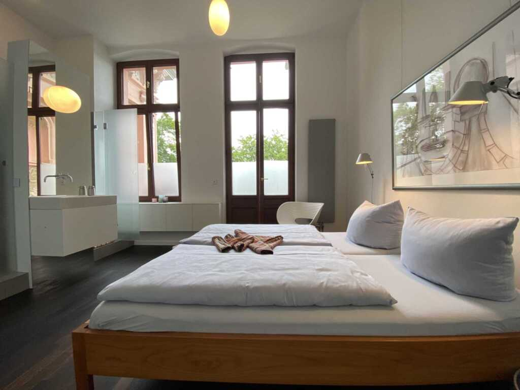 Art & Design Apartment 'Loggia' in der 'Villa Hint