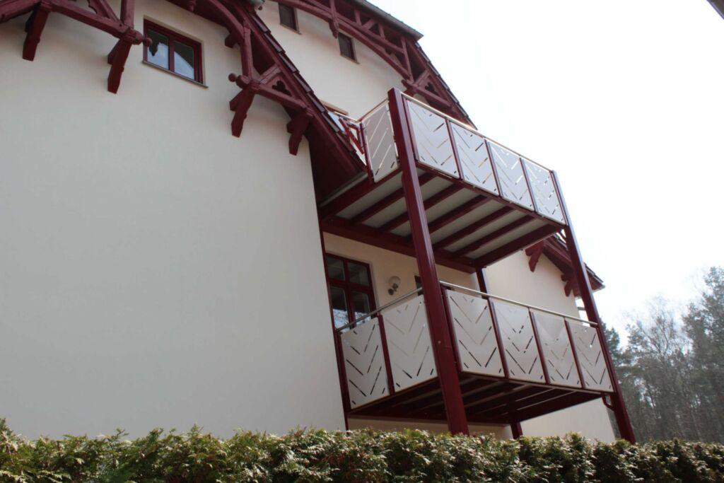 Villa Zollernhöhe, Ferienwohnung 4 mit Balkon
