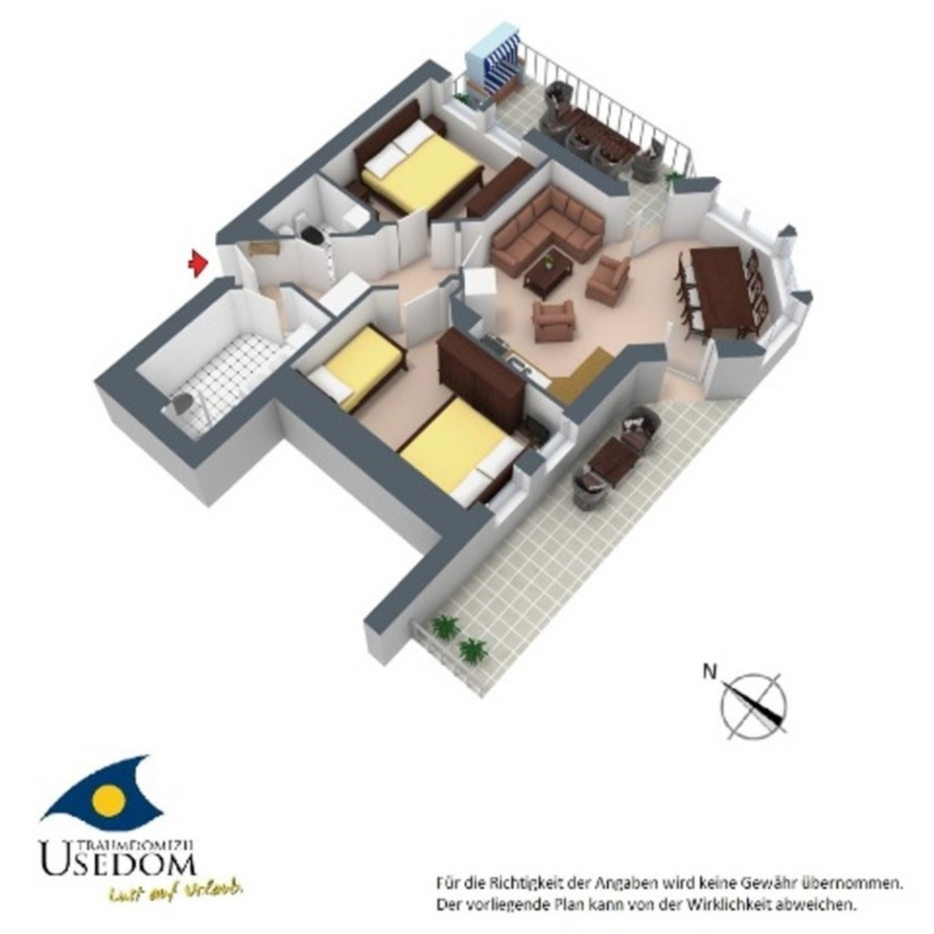 Dünen-Residenz B 05, DR B 05