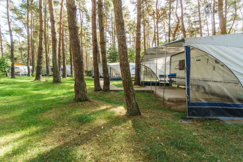 Urlaub im Wohnwagen - mitten im Wald, Wohnwagen 04