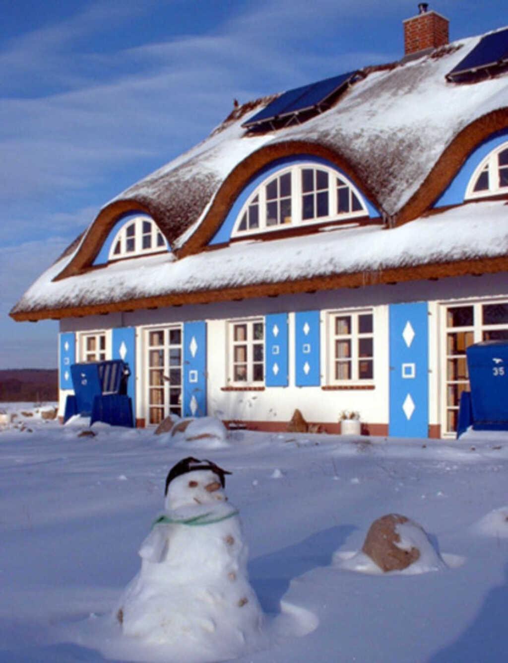 Ferienapp.-Arrangement 'Winter auf Rügen' unterm R