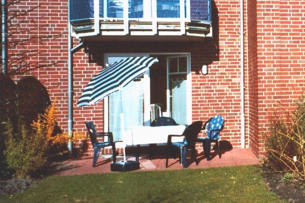 Terrasse mit Wiese