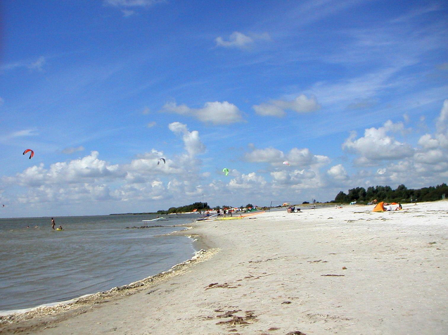 Strand am Ijsselmeer