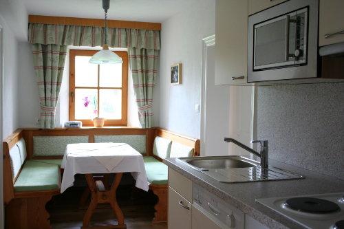 Küche der Ferienwohnung 1.Stock