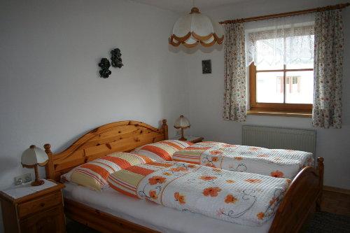 Gemütlich eingerichtete Schlafzimmer