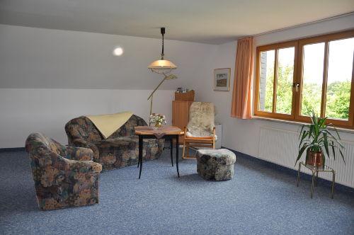 Wohnbereich in einer Ferienwohnung