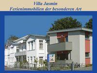Villa Jasmin**** Bäderarchitektur alt und neu, 3-Zi.-App. J8, 1. OG, Loggia+Balkon in Heringsdorf (Seebad) - kleines Detailbild