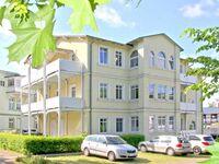 Villa Strandmuschel, B 04: 40 m², 2-Raum, 3 Pers., Balkon, Blick Richtung Meer in Göhren (Ostseebad) - kleines Detailbild