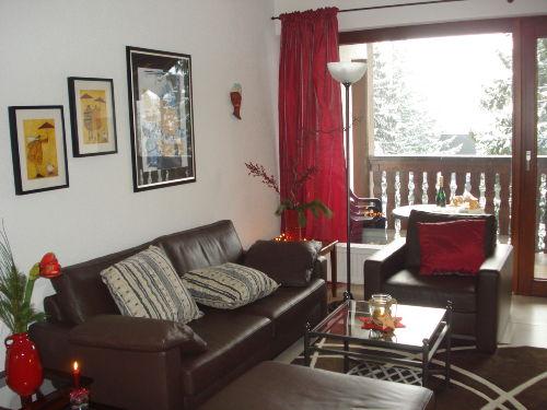 gemütliches Wohnzimmer mit Ausblick
