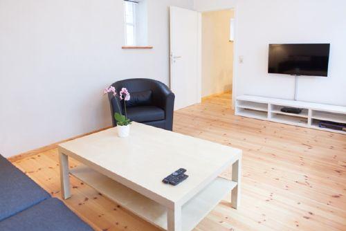 Wohnzimmer mit TV/DVD