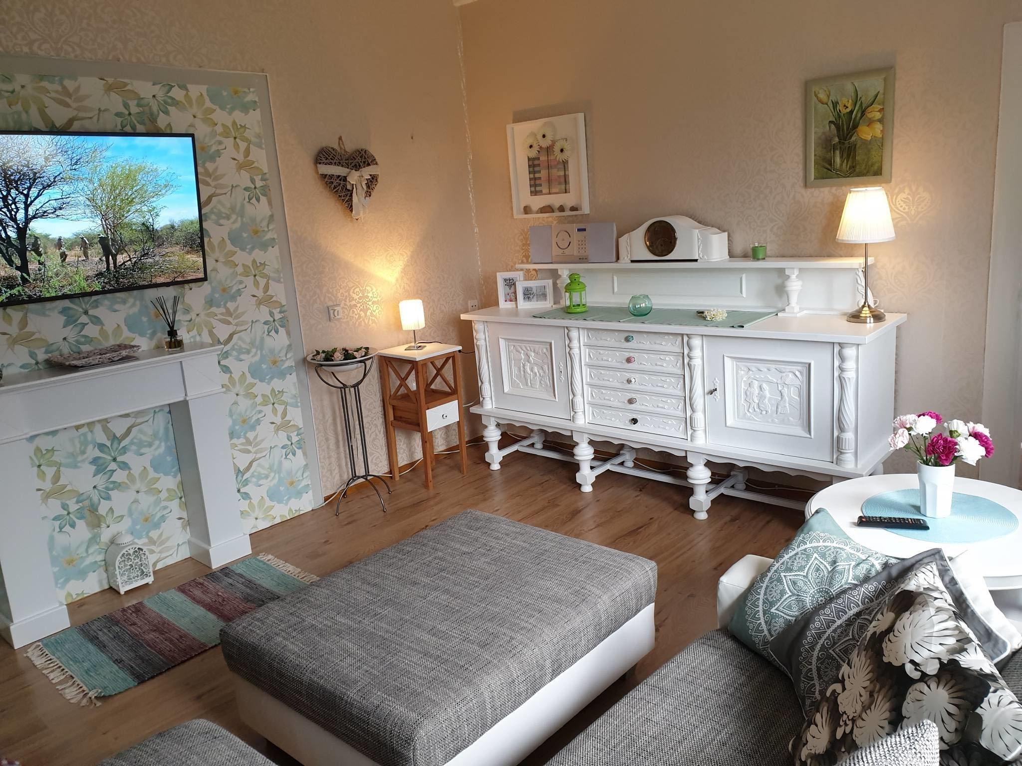 Moderne Wohlf�hl-Couch im Wohnzimmer
