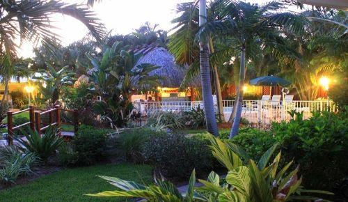 Grill & Chill am Pool unter dem Tikihut
