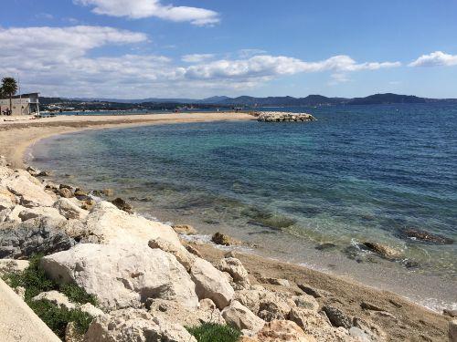 Strand vor der Haust�r, ein Traum