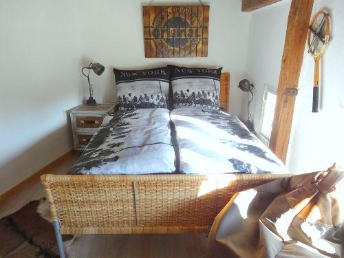 3. Schlafzimmer mit franz. Doppelbett