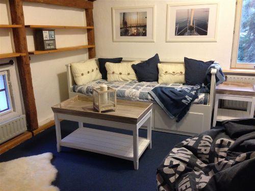4. Schlafraum mit ausziehbarem Sofabett