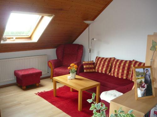 ...mit Sofa- und Leseecke