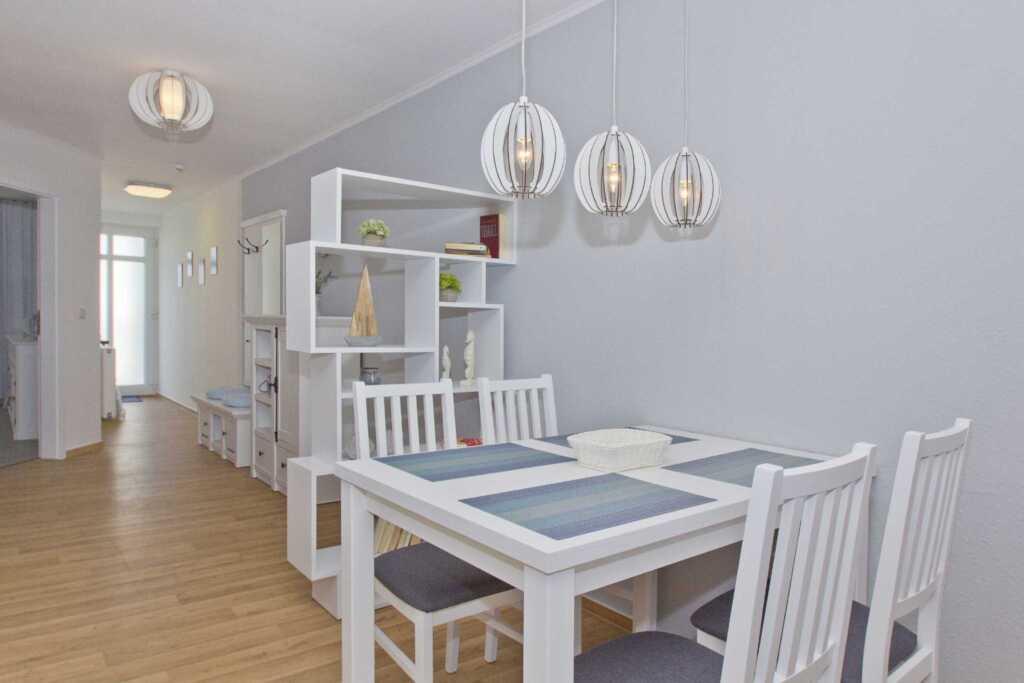 Haus Strandeck, A 19: 65 m�, 2-Raum, 4 Pers., Balk