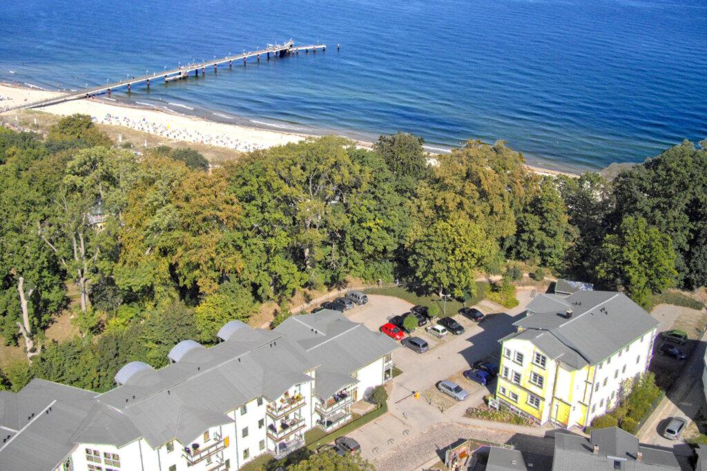 Strandresidenz Brandenburg, D 13: 54 m², 2-Raum, 4