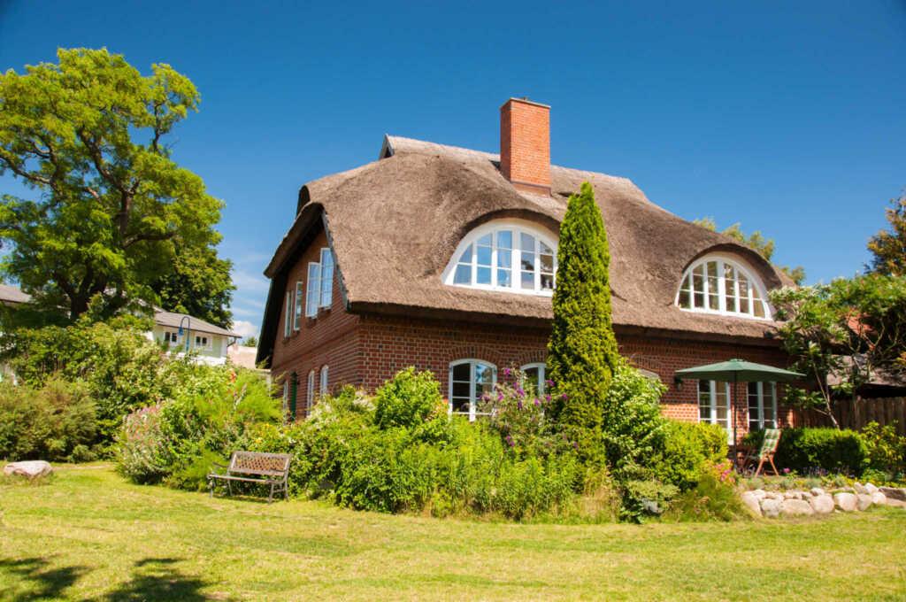 Landhaus am Deich, Nr. 1 Ferienwohnung mit Kamin