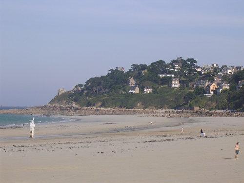 Strand unterhalb des Hauses