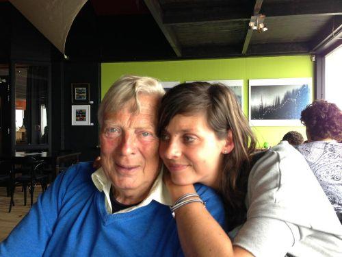 Vater (Kees) und Tochter (Daphne)