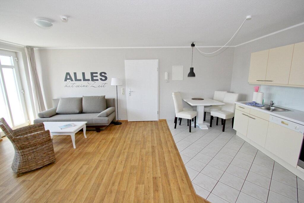 Haus Strandeck, A 14: 65 m², 2-Raum, 4 Pers., Bal