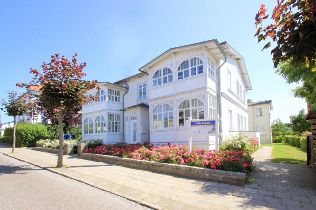 Villa Möwe, A 03: 50 m², 2-Raum, 4 Pers., Veranda